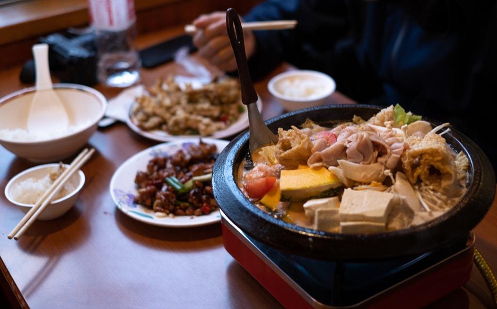 山賓餐廳火鍋